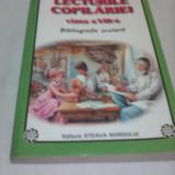 LECTURILE COPILARIEI CLASA VIII BIBLIOGRAFIE SCOLARA - Carte educativa