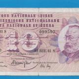 Elvetia 10 francs 1973 3 - bancnota europa