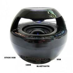 BOXA ACTIVA/AMPLIFICATA MP3 USB PLAYER, RADIO FM, INTRARE AUXILIARA, BLUETOOTH. - Echipament karaoke