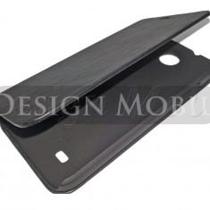 HUSA HTC DESIRE 300 FLIP TIP CARTE SUPER OFERTA - Husa Telefon HTC, Negru, Piele Ecologica, Cu clapeta, Toc