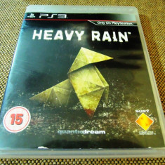 Joc Heavy Rain, PS3, original, alte sute de jocuri! - Jocuri PS3 Sony, Role playing, 16+, Single player