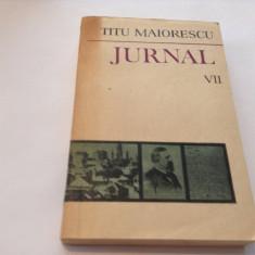 Biografie - Jurnal vol.VII -Titu Maiorescu, RF5/3