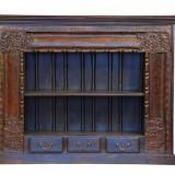 Comodă din lemn masiv cu 3 sertare Exotique BAC14-H5782
