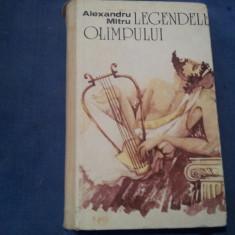 LEGENDELE OLIMPULUI AL MITRU - Carte mitologie