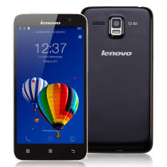 Telefon mobil Lenovo, Negru, 16GB, Neblocat, Single SIM, Octa core - LENOVO A806 A8, Android 4.4, 5'' IPS HD, Octa-Core 1.7GHz, 2GB RAM, 4G, Single-SIM