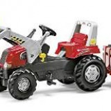 Masinuta de jucarie - Tractor cu remorca si incarcator frontal, Rolly Toys