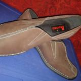 Pantofi dama - Pantofi casual de dama Lidoro piele intoarsa fina, NOI, masura 37, maro, primavara