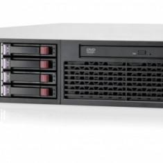 HP Proliant DL380 G7, 1x Intel Xeon Quad Core E5620 2.4Ghz, 32Gb DDR3 ECC, 2x 300Gb SAS, RAID P410I, 2x Surse, DVD-RW - Server HP