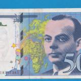 Franta 50 francs 1994 1 - bancnota europa
