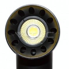 20W Proiector LED pe sina Corp Negru 5000K
