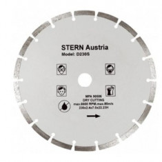 Disc Diamantat Segmentat pentru Flex (180 mm) Stern D180S