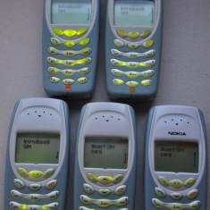 Telefon Nokia, Verde, Nu se aplica, Vodafone, Single SIM, Fara procesor - Telefon de colectie NOKIA 3410. FUNCTIONAL! Telefoane vechi NOKIA + Incarcator