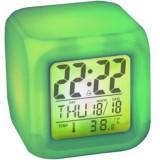 Ceas Cub Multicolor Cu Alarma Si Termometru