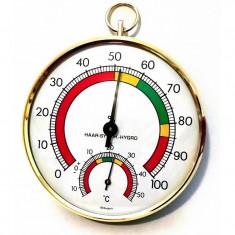 Higrometru cu termometru TFA pentru sere