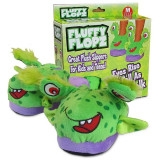 Papuci tip jucarie pentru copii Fluffy Flopz masuri S, M, L - Papuci copii