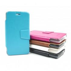 Husa telefon - Husa protectie Allview A5 Duo AIMI, tip carte, diverse culori (Culoare: Negru)