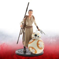 Figurine Rey si BB-8 Star Wars - The Force Awakens - Figurina Desene animate Disney