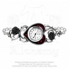 Ceas-brățară Șirag de trandafiri - Pandantiv fashion