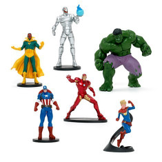 Set Figurine Razbunatorii - Sub semnul lui Ultron - Figurina Desene animate Disney