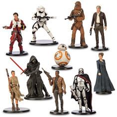 Set Figurine Star Wars Deluxe - The Force Awakens - Figurina Desene animate