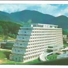 @carte postala(ilustrata)-BISTRITA NASAUD-Saigeorz Bai-Hotel Hebe - Carte Postala Transilvania dupa 1918, Necirculata, Printata