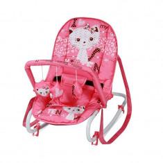 Balansoar bebe LORELLI CLASSIC Top Relax - Pink Kitten - Balansoar interior