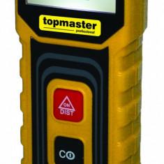 269909-Telemetru laser (ruleta digitala ) 15m Topmaster Profesional TMP15