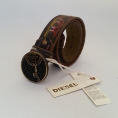 Curea din Piele DIESEL CP-62 - Curea Barbati Diesel, Marime: 120cm, Culoare: Maro