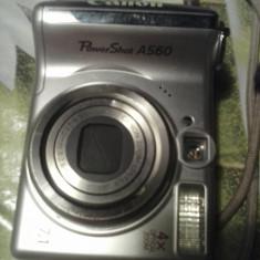 Aparat foto digital CANON Powershot A560 - Aparat Foto compact Canon, 8 Mpx, 4x, 2.5 inch