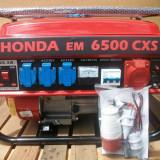 Generator de curent Honda, 5.5 kw, 220 si 380v, benzina/GPL, nou, livrare gratis