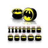 Plug pentru ureche, negru, lucios - Batman