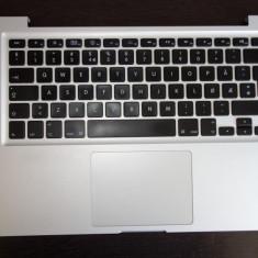 Palmrest + tastatura + Backlight Apple MacBook Pro A1278 Mid 2010 ORIGINAL! - Tastatura laptop