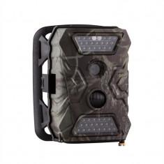 DuraMaxx GRIZZLY Mix Trailcamera 40 LED-uri Negru 12 MP Full HD USB acumulator SD - Detector metale