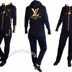 Trening Louis Vuitton pentru dama! - Trening dama Louis Vuitton, Marime: S, L, Culoare: Bleumarin, Bumbac