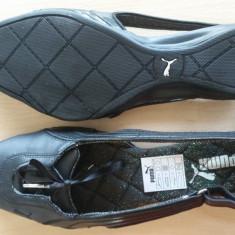 Balerini PUMA Dama NOI marimea 40 nepurtati - Pantofi dama Puma, Culoare: Negru