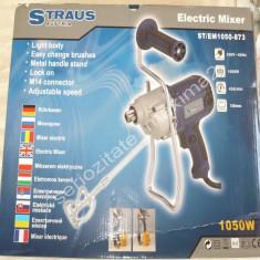 Amestecator mortar mixer electric Straus Austria 1050W masina de amestecat - Amestecator electric