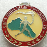 MEDALIA CU TOARTA CUPA MARII NEGRE CONSTANTA-1979 - Medalii Romania