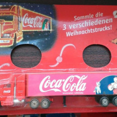 Camion Coca Cola - model Craciun 2002 3/3, 1/87, Germania (tip 007)