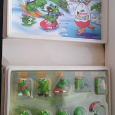 Kinder - Cutie-diorama Froggy Friends - serie completa - Surpriza Kinder