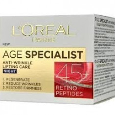 L'OREAL AGE SPECIALIST +45 NOAPTE - Crema antirid