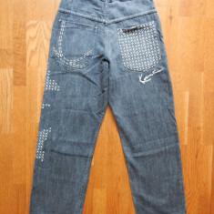 Blugi Hip Hop Karl Kani The Original Brooklyn Jeans 1989 USA ; 30/30; impecabili - Blugi barbati, Culoare: Din imagine