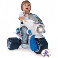 Tricicleta Electrica Samurai Police 6V - Masinuta electrica copii Injusa
