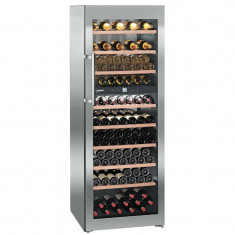 Vitrina de vin Liebherr WTes 5972, 211 sticle, Inox - Vitrina Frigorifica