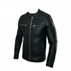 Geaca Barbati Zara Office Casual Cod Produs 9123, Marime: S, M, L, XL, Culoare: Negru, Piele