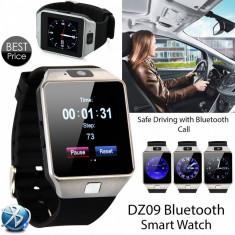 Smartwatch 4P-Touch DZ09 Ceas TELEFON SIM + Casca Bluetooth