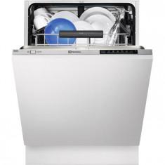Masina de spalat vase incorporabila cu motor Inverter Electrolux Real Life ESL7510RO, 13 Seturi, 6 Programe, Clasa A++, 60 cm, Inox