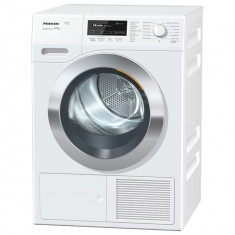 Uscator de rufe MIELE TKG 850 WP SteamFinish Eco, 8kg, A+++, 12 programe, alb - Masini de spalat rufe