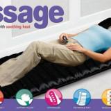 Saltea confortabila cu incalzire si masaj - Rasfatati-va acasa! - Aparat masaj