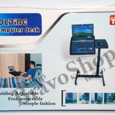 Masa pentru laptop reglabila - ajustabila si utila pentru fotoliu, pat, sezlong... - Masa Laptop