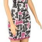 Papusa Mattel Barbie Print Dress